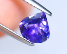 1.27cts Natural D Block TOP Violet Blue Tanzanite/ KL1067