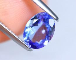 1.14cts Natural D Block TOP Violet Blue Tanzanite / KL1076