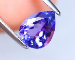 1.70cts Natural D Block TOP Violet Blue Tanzanite / KL1072