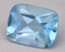 2.48Ct VS2 Octagon Cut Natural Santa Maria Color Aquamarine C0119