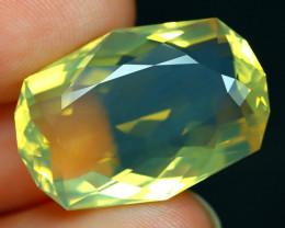 13.05Ct Fire Opal Precision Cut Ethiopian Crystal Flash Fire Opal C0124