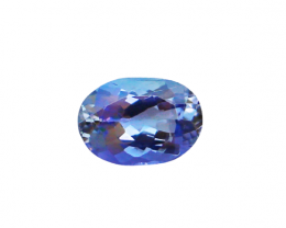 NR!!! 1.27 CTs Natural & Unheated~ IGI Certified Blue Tanzanite Gemstone
