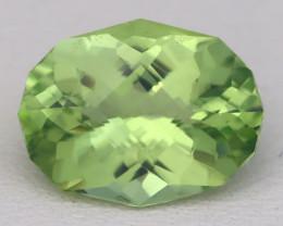 Merelani Garnet 3.21Ct Master Cut Natural Mint Grossular Garnet A0815
