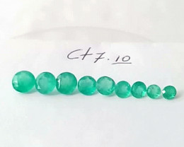 7.10ct Colombian Emerald Lot