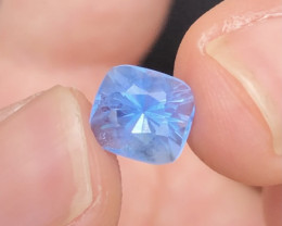 Certified Aquamarine 2.20 Ct  Natural Aquamarine Beautiful Aquamarine