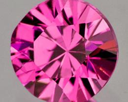 3.80 mm Round 0.26ct Pink Sapphire [VVS]