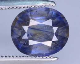 Purplish Blue 2.20 ct Bi Color Sapphire Ring Size