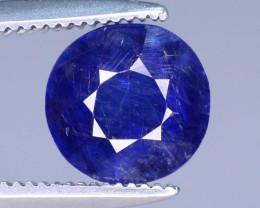 Jewelry Piece 1.65 ct Blue Color Sapphire