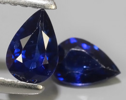 0.90 CTS AWESOMEBLUE SAPPHIRE FACET GENUINE MADAGASCAR~EXCELLENT!!