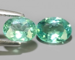 2.20 CTS EXQUISITE GREEN COLOR UNHEATED APATITE~OVAL EXCELLENT!