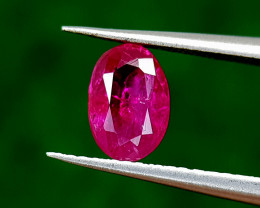 0.95CT NATURAL RUBY MOZAMBIQUE BEST QUALITY GEMSTONE IIGC18