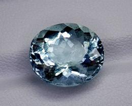 7.71CT BLUE AQUAMARINE BEST QUALITY GEMSTONE IIGC18