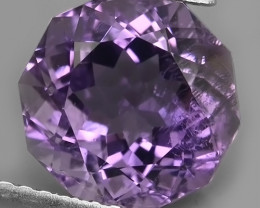 3.35 CTS DAZZLING ROUND CUT PURPLE AMETHYST WONDERFUL~GEM!!