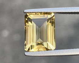 5.25 Cts Natual Lemon Quartz Good Quality Gemstone