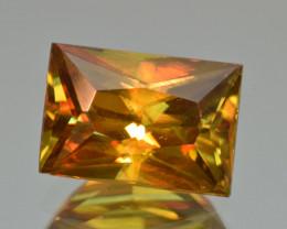 Natural Sphene 5.35 Cts Full Fire Gemstone, Zagi Mountains, Pakistan