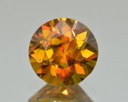 Natural Sphene 4.80 Cts Full Fire Gemstone , Zagi Mountains, Pakistan