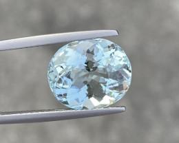 7.56 Cts Natural Aquamarine Quality Gemstone