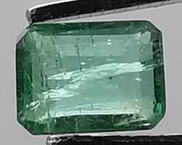 Emerald, 1.02ct, Zambian beauty in great colour!