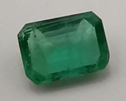 Emerald, 0.6ct, clean great gemstone!!
