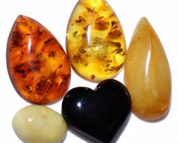 55 Cts Natural Amber Parcel from Poland code CCC2841