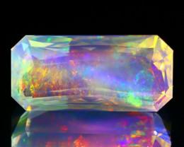 ContraLuz 6.69Ct Rainbow Flash Color Ethiopian Welo Fire Opal C3116