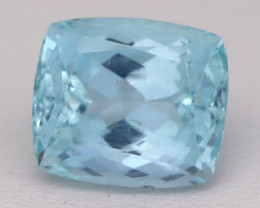 Aquamarine 6.43Ct VS Octagon Cut Natural Santa Maria Aquamarine C3122