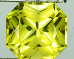 ~CUSTOM CUT~ 3.88 Cts Natural Lemon Quartz Yellow Fancy Cut Brazil