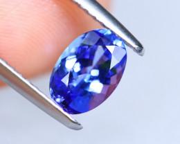 1.12cts Natural D Block TOP Violet Blue Tanzanite / KL1087