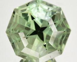 ~CUSTOM CUT~ 14.27 Cts Natural Prasiolite / Amethyst Fancy  Brazil