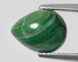 Malachite 2.18 Cts Rare Green Cabochon