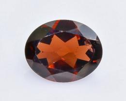 2.76 Crt Natural  Garnet Faceted Gemstone.( AB 9)