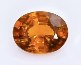 1.53 Crt Natural Spessartite Garnet  Faceted Gemstone.( AB 9)