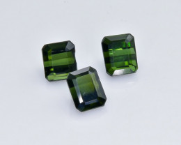 3.63 Crt Natural  Tourmaline Faceted Gemstone.( AB 9)