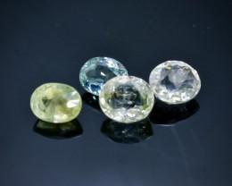 6.54 Crt Natural Tourmaline Faceted Gemstone.( AB 9)