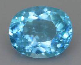 Rare 2.21 ct Amazing Luster Blue Apatite SKU.19