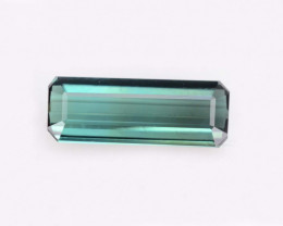 AAA Grade 1.70 ct Natural Greenish Blue Tourmaline