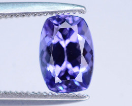 AAA Grade 1.10 ct Tanzanite eye catching Color