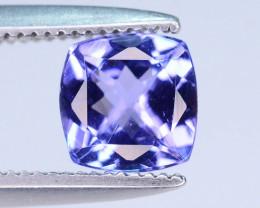 Ring Size 0.70 ct Tanzanite eye catching Color