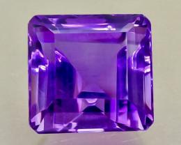 41.17 Crt  Amethyst Faceted Gemstone (Rk-84)