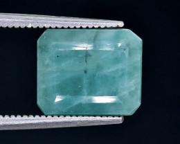 5.15 Crt  Emerald Faceted Gemstone (Rk-84)