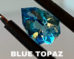 TOPAZ - BLUE - THE BEST FOR JEWELLERY-   SALE OF THE COLLECTION!!!