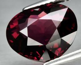 6.47 ct  Natural Earth Mined Pinkish Purple Rhodolite Garnet, Madagascar