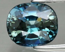0.86 ct Natural Earth Mined Top Quality Bluish Green Sapphire