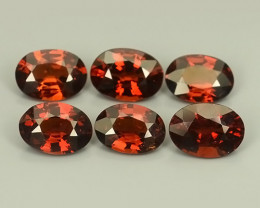 5.60 CTS~EXCELLENT~NATURAL SPESSARTITE GARNET~ OVAL  ~ NICE QUALITY GOOD CO