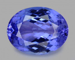 Tanzanite 4.52 Cts Amazing Rare Violet Blue Color Natural Gemstone
