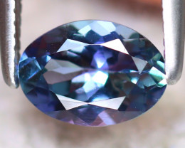 Tanzanite 0.85Ct Natural VVS Purplish Blue Tanzanite D0606/D3