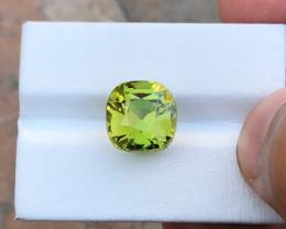 9  Ct Natural Greenish Yellow Transparent Kunzite TOP Quality Gemstone