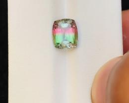 2.40 Ct Natural Bi Color Transparent Tourmaline Ring Size Gemstone