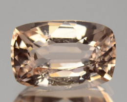~GORGEOUS~ 2.00 Cts Pretty Natural Peach Pink Morganite Brazil