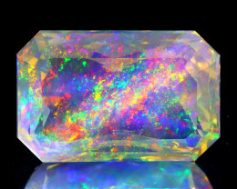 7.42Ct ContraLuz Precision Cut Ethiopian Very Rare Species Opal B0307